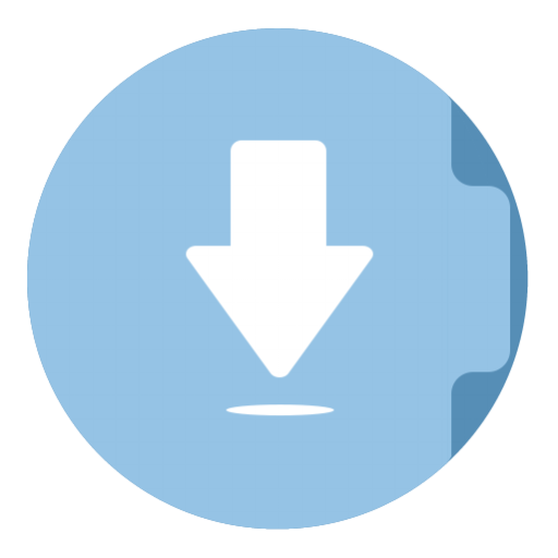 Folder Download Icon The Circle Iconset Xenatt