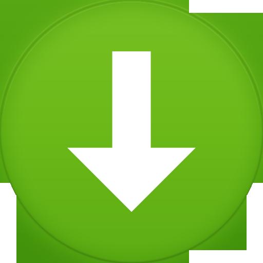 Green Circle Downloading Png
