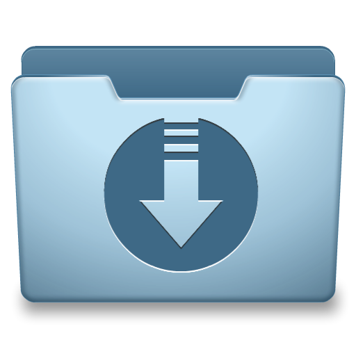 Ocean Blue Download Icon Png