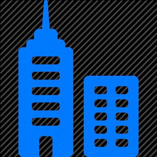 Bank Building, Blue, Business Center, Center, Central Office