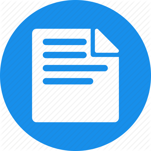 Document, Draft, File, Note, Paper, Report, Type Icon