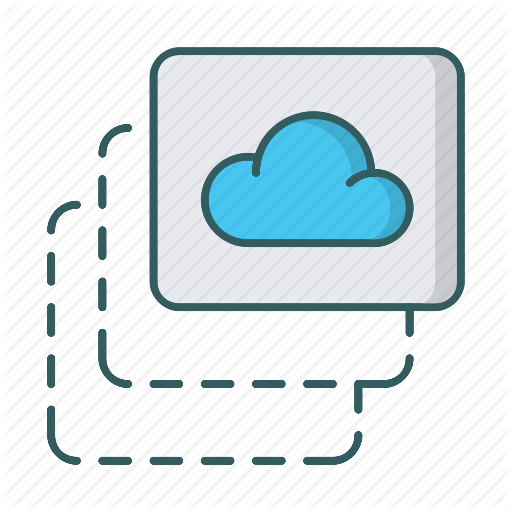 Area, Cloud, Computing, Drag And Drop, Network, Storage, Upload Icon