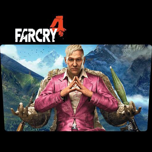 Far Cry Folder Icon Movie, Tv Show, Anime, Game Folder Icon