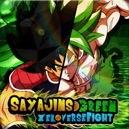 Dbs Sayajins Green Xenoverse Fight