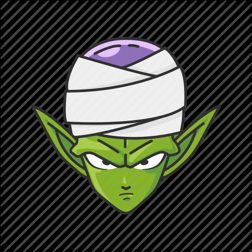 Alien, Anime, Big Green, Cartoons, Dragon Ball, Piccolo, Pikkoro Icon