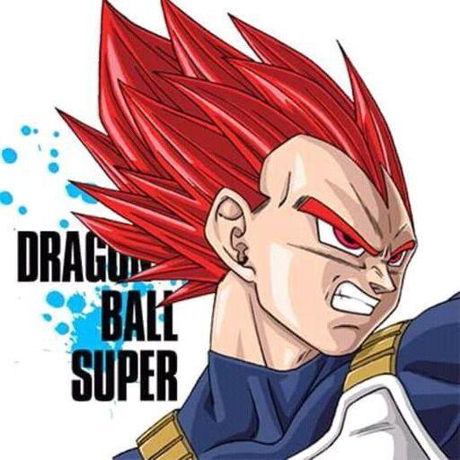 Vegeta Super Saiyan God Icon