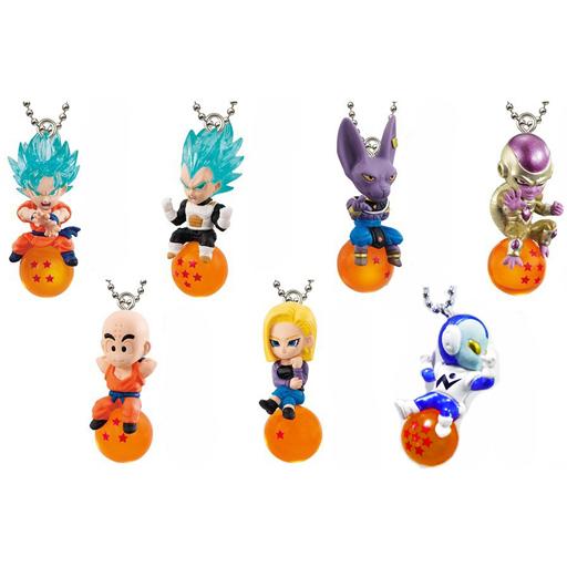 Dragon Ball Super Qd Strap Mascot Keychain Collection Box Volume