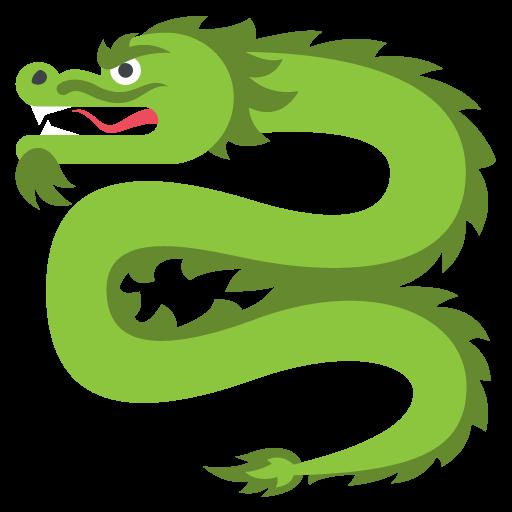 Dragon Emoji Vector Icon Free Download Vector Logos Art Graphics