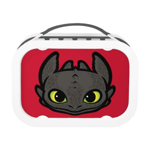 Toothless Head Icon Lunch Box Interesting Pins