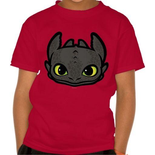 Toothless Head Icon Tshirts Dreamworks Merchandise