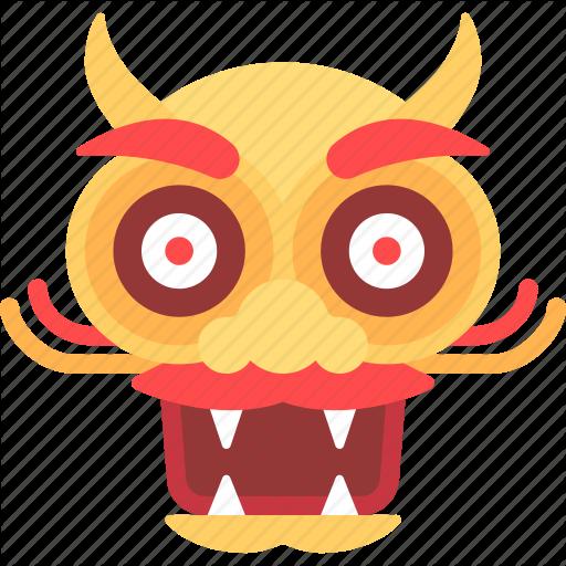 China, Chinese, Dragon Icon
