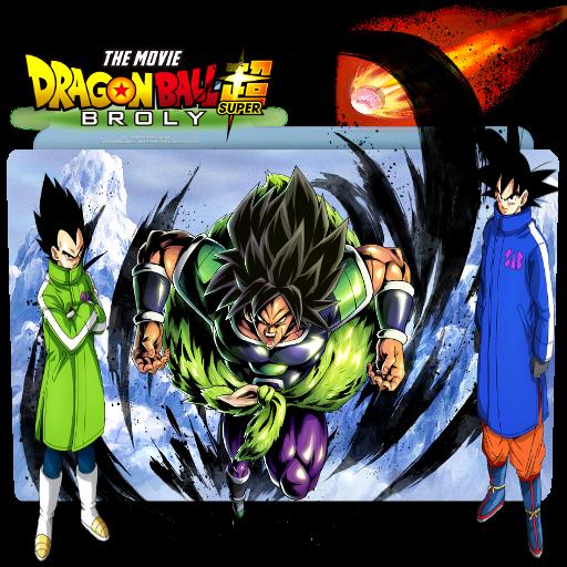 Dragon Ball Super Broly Movie Folder Icon