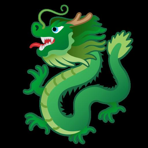 Dragon Icon Free Of Noto Emoji Animals Nature Icons