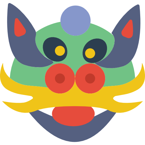 Dragon Icon Holiday Elements Smashicons