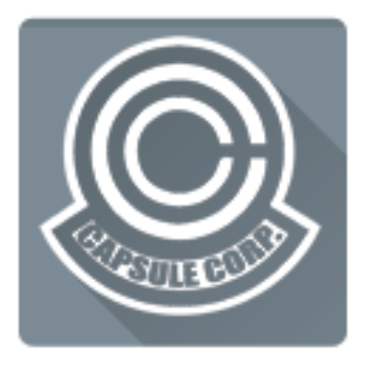 Corporation, Dragon Ball, Capsule Corporation Icon