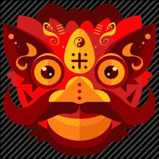 Celebration, Chinese, Costume, Dragon, Festival, New, Year Icon