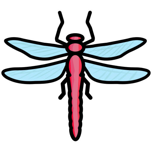 Bug, Creature, Dragonfly, Insect Icon Free Of Spring