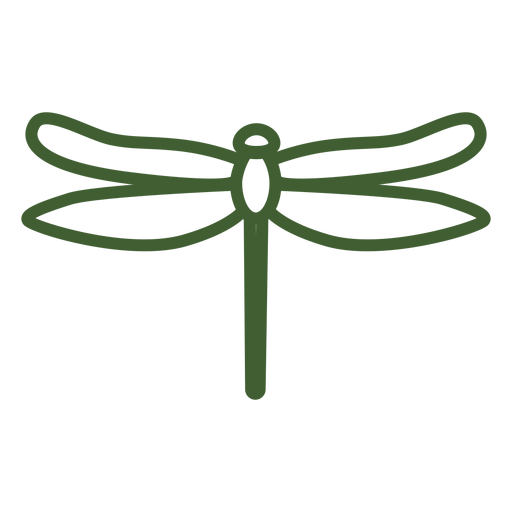 Simple Dragonfly Icon