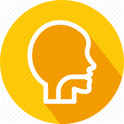 Food Drain, Male Head, Medical, Mouth, Patient, User Icon