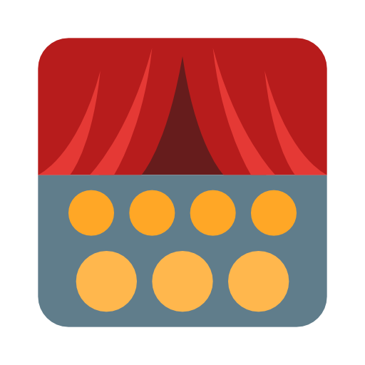 Audience, Theater, Scene, Curtains Icon Free Of Cinema Icons