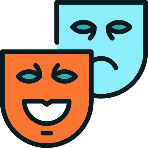 Drama Mask Icon at GetDrawings com   Free Drama Mask Icon images of