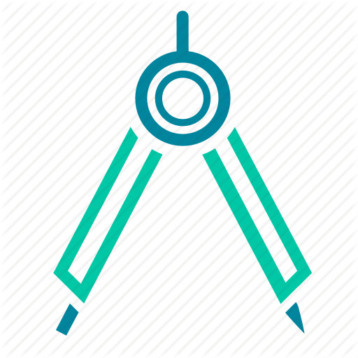 Compass, Design, Draw, Drawing, Geometry Icon