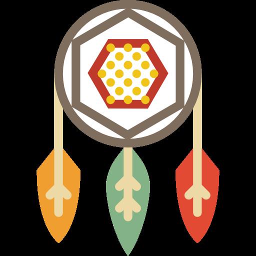 Adornment, Native American, Ornamental, Decoration, Dreamcatcher Icon