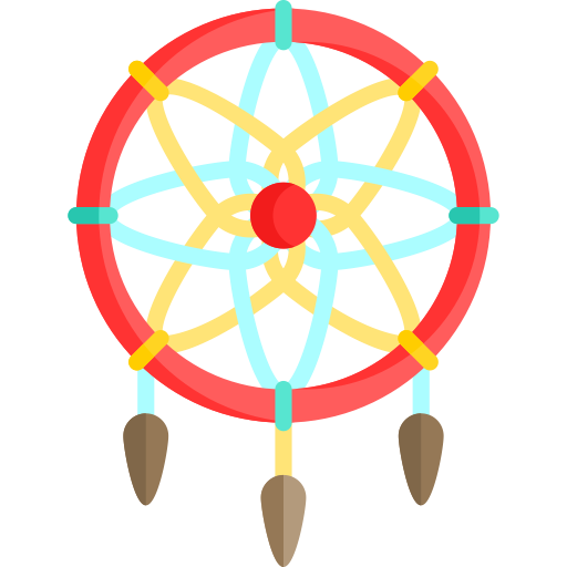 Dreamcatcher, Decoration, Ornamental Icon With Png And Vector