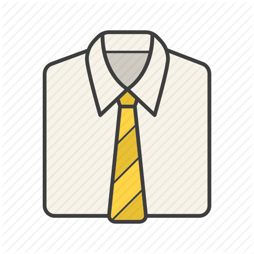 Classic, Clothing, Dress Code, Necktie, Shirt, Tie, Wear Icon