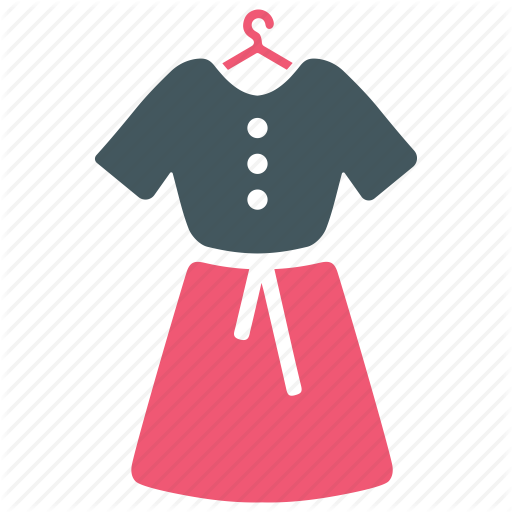 Dress, Female Dress, Skirt, Women Dress Icon