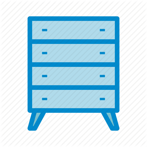 Bureau, Drawers, Dresser Icon