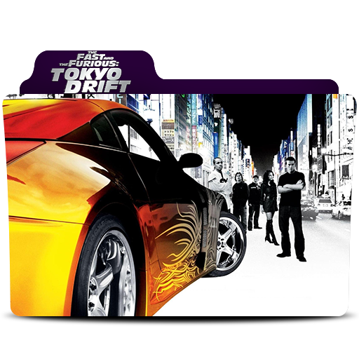 The Fast And The Furious Tokyo Drift Folder Icon