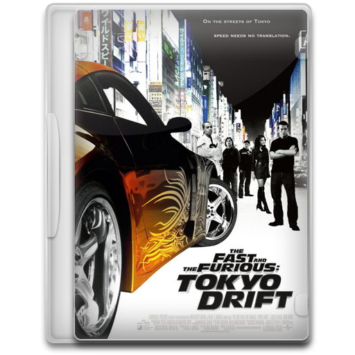 The Fast And The Furious Tokyo Drift Icon Movie Mega Pack