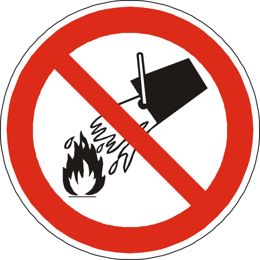 No Water Icon Images