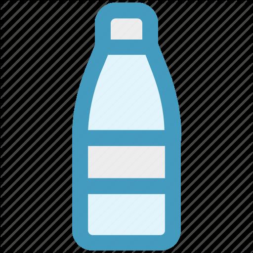 Beer, Bottle, Drinking Water, Milk, Water Icon