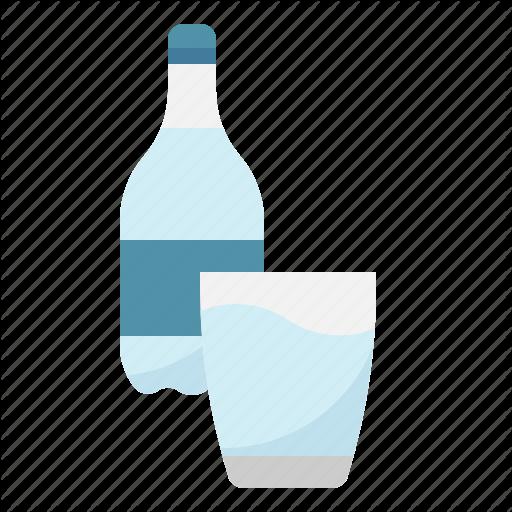 Beverage, Bottle, Drinking, Glass, Water Icon