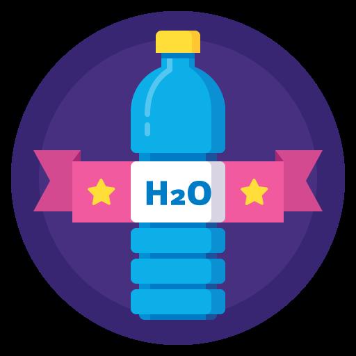 Drink, Sport, Badge, Water, Bottle, Hydration Icon