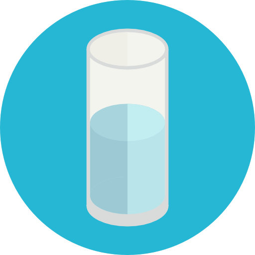 Water Flat Lightseagreen Icon