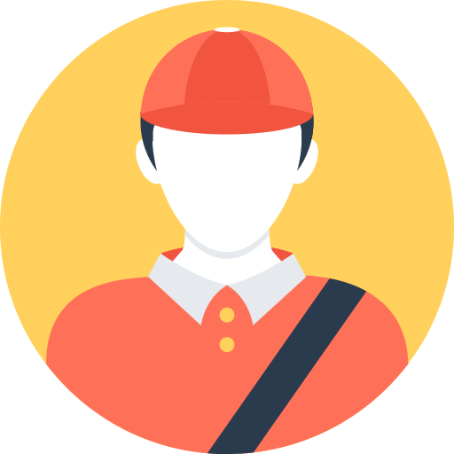 Delivery Man Driver Png Icon