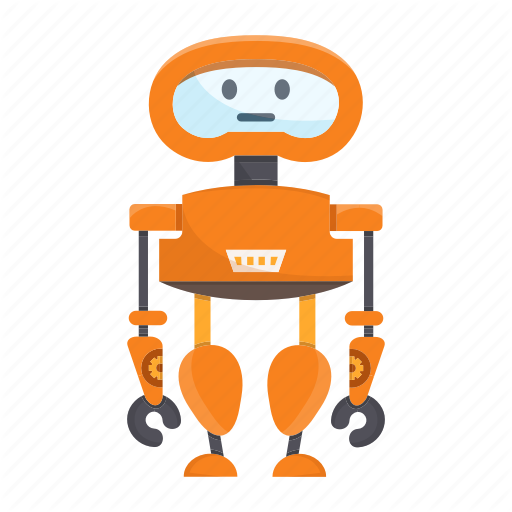 Cartoon, Character, Cute, Droid, Mascot, Robot Icon
