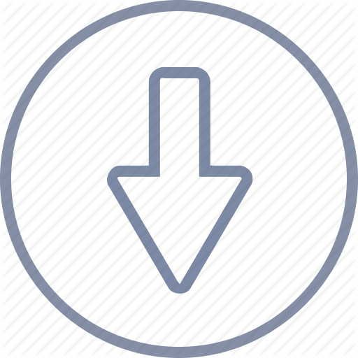 Arrow, Down, Download, Downward, Drop, Fall Icon