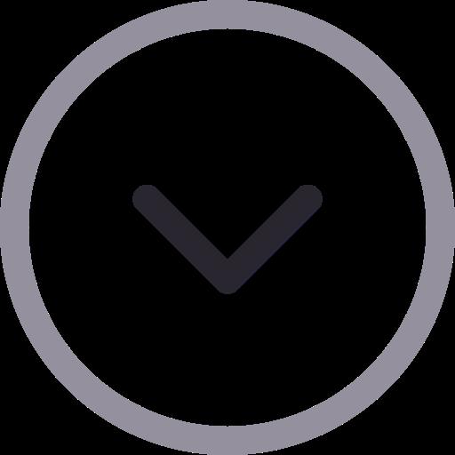 Arrow, Down, Circle Icon Free Of Icons Duetone