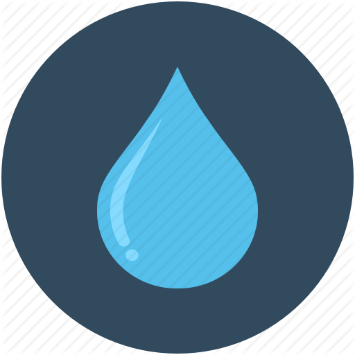 Blood Drop, Drop, Droplet, Oil Drop, Water Drop Icon