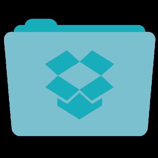 Folder Dropbox Icon Stock Folder Iconset Hamza Saleem
