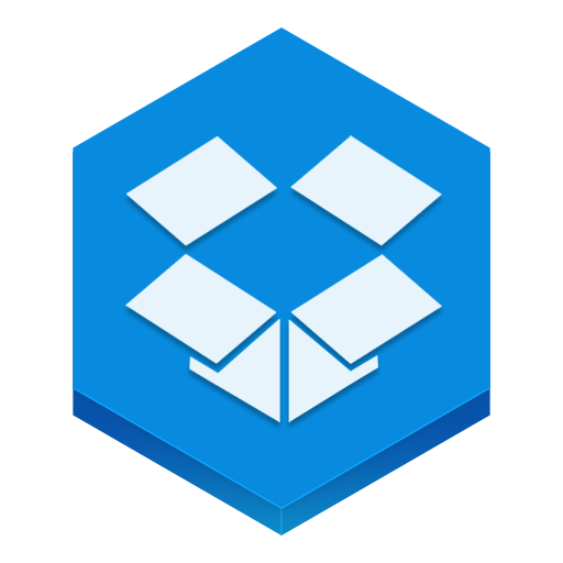 Dropbox Icon Hex Iconset