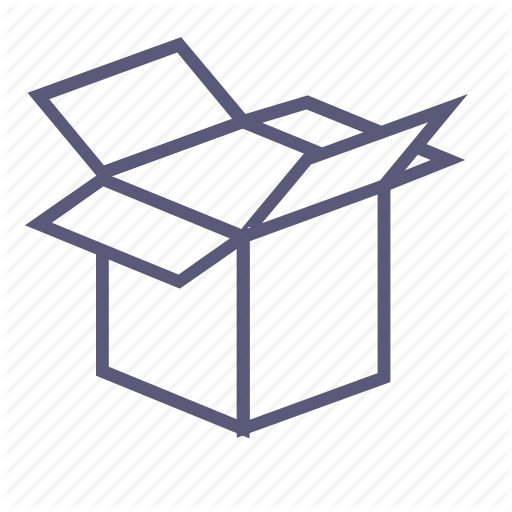 Box, Dropbox, Move, Open Box, Package, Packing, Shipping Icon