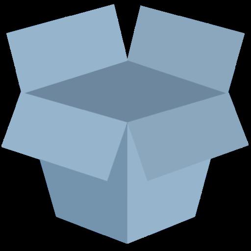 Dropbox Icon Flat Retro Modern Iconset Grafikartes