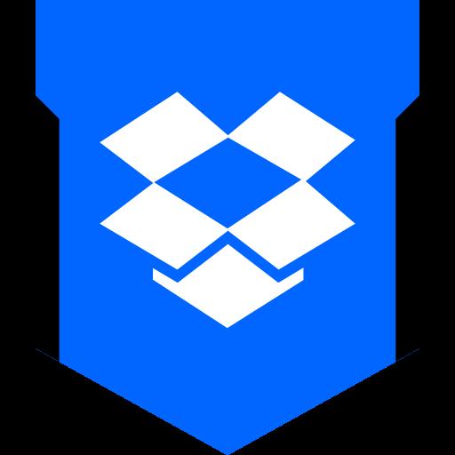 Dropbox Glyph Icon