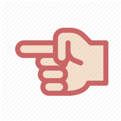 Arrow, Finger, Gesture, Hand, Index, Left, Select Icon