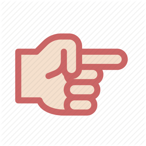 Arrow, Finger, Gesture, Hand, Index, Right, Select Icon